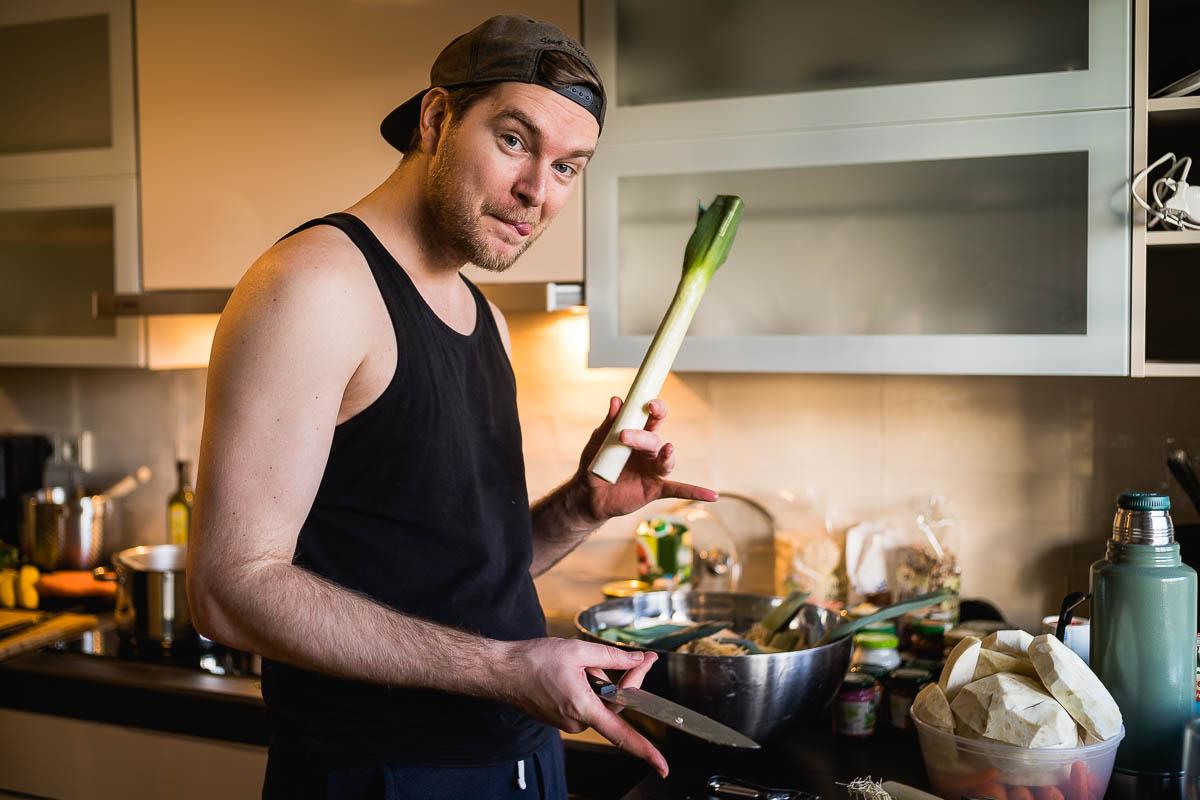 Jeder darf mal kochen